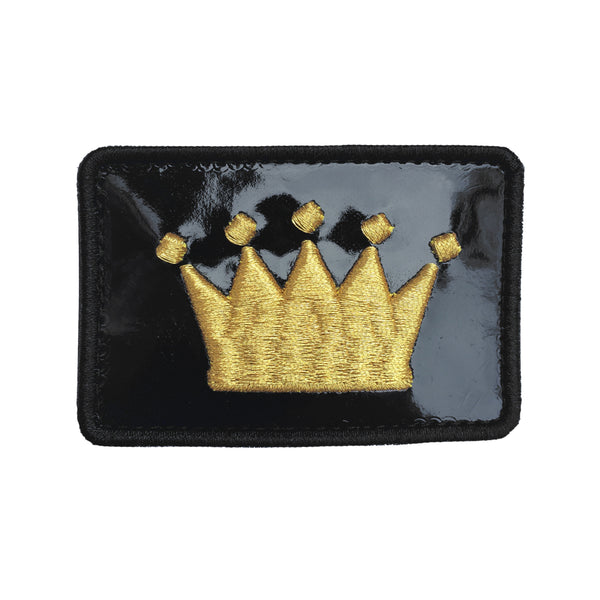 Crown Logo Patent Velcro Patch (CapSlap)