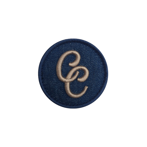 CC Logo Denim Velcro Patch (CapSlap)