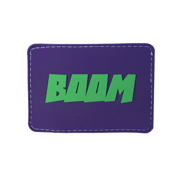 BOOM Superhero Velcro Patch (CapSlap)
