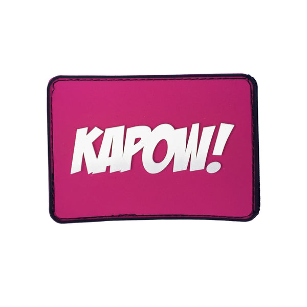 KAPOW Superhero Velcro Patch (CapSlap)
