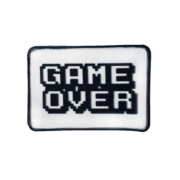 Game Over Velcro Patch (CapSlap)