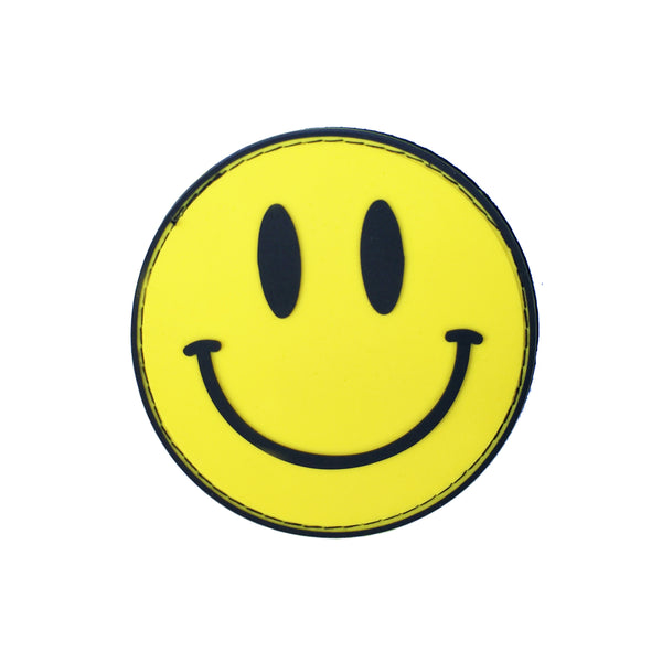 Smiley Face Velcro Patch (CapSlap)