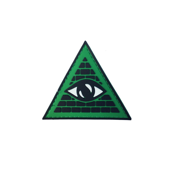 Illuminati Triangle Velcro Patch (CapSlap)