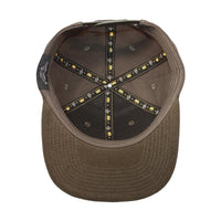 Velcro Baseball Cap in Olive Green (includes 1 x Velcro Patch) #capbuilder