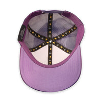 Velcro Baseball Cap in Pink (includes Game Over Velcro Patch)