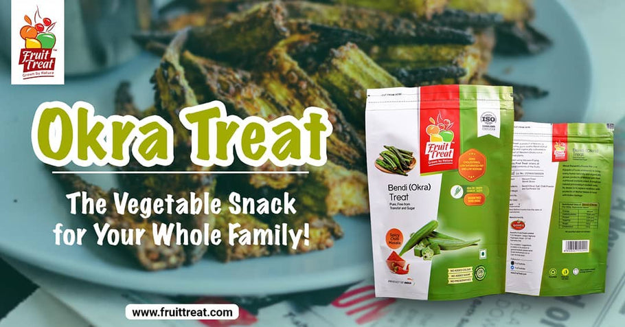 Okra Treat – The Vegetable Snack for Your Whole Family