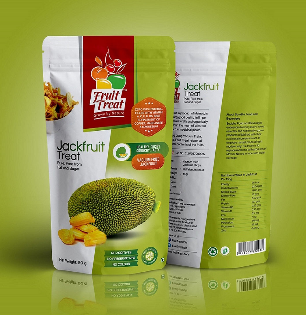 Natural Jackfruit Chips