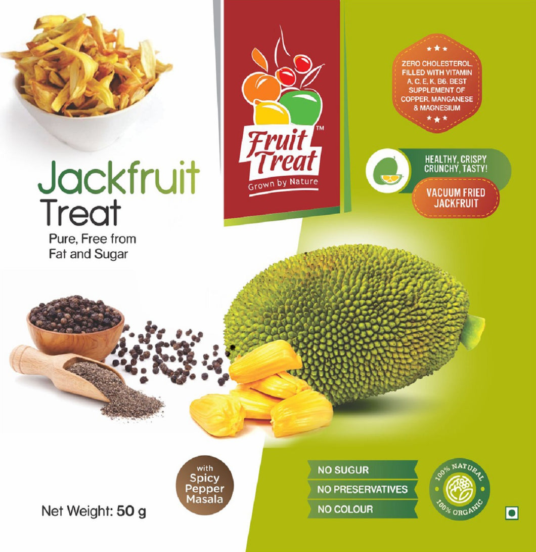 Natural Jackfruit Chips with Spicy Pepper Masala