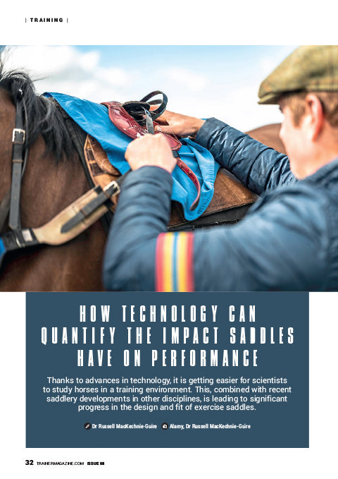 Trainer Magazine Saddle Feature