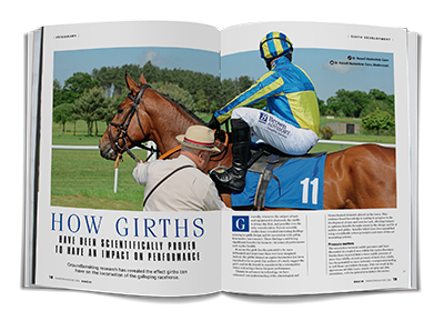 Trainer Magaine Girth Feature Spread