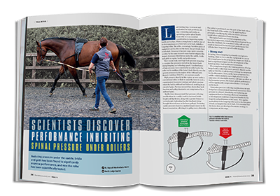 Trainer Magazine - Scientists discover performance inhibiting spinal pressure under rollers