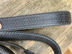 Fairfax Buckle End Rubber Reins