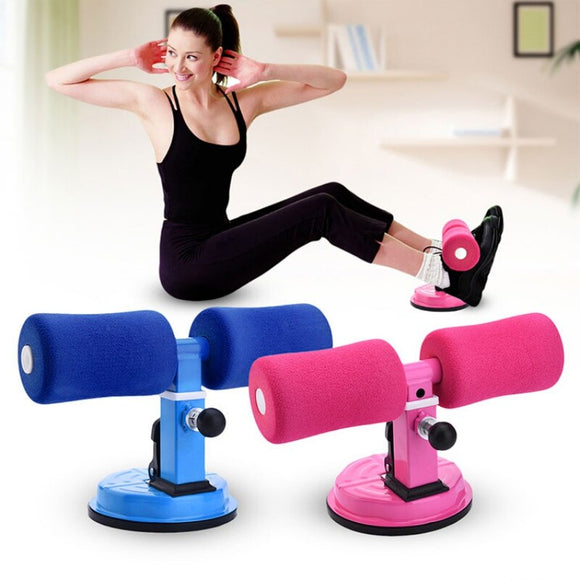 Sit-Up Bar Muscle Training Stand Abdominal Core Strength Fitness Exercise Machine Home Gym Self-Suction Situp Assist Bar Stand
