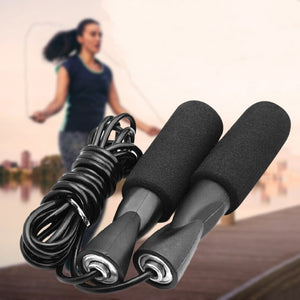 3M Bearing Skip Rope Fitness Speed Exercise Gym Jump Ropes with Thickened Anti-slip Foam Adjustable