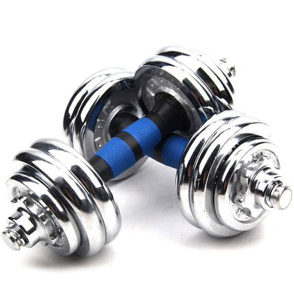 30KG adjustable fitness dumbbell weight dumbells electroplating weight bars gym dumbells barbell set Boxe for men Body Building