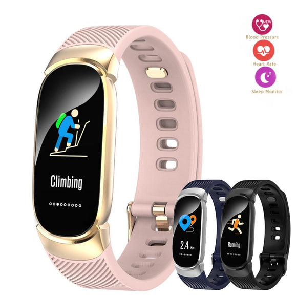 QW16 Smart Watch Men Women Outdoor Sport Fitness Watch Heart Rate Monitor Blood Pressure Oxygen Health Watch Color Screen