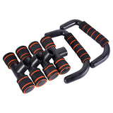 2Pcs H I-shaped Fitness Push Up Stand Bar Gym Exercise Training Body Comprehensive Exercise Workout Push-up Stands Men Women