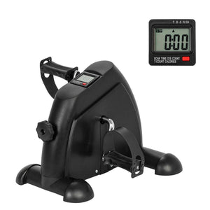W002K Home Exerciser Fitness LCD Display Pedal Exercise Indoor Cycling Stepper Mini Exercise bike
