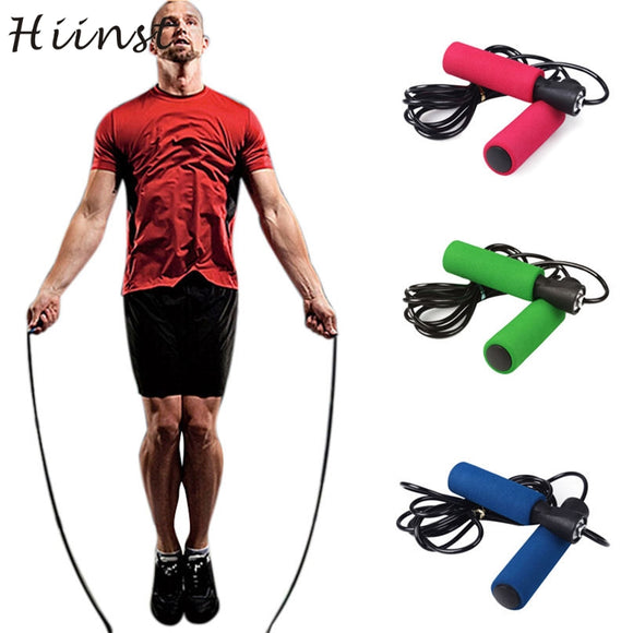 Activing 2017 Best Deal  Aerobic Exercise Skipping Jump Rope Adjustable Bearing Speed Fitness ST27