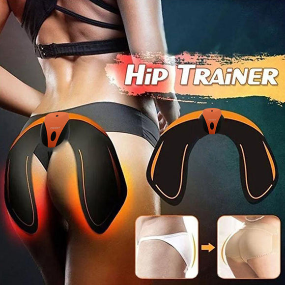 EMS Hip Trainer Wireless Muscle Stimulator ABS Fitness Buttock Lifting Butt Massage Electric Vibration Stimulation Body Slimming