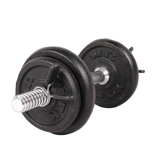 Barbell Lock 2Pcs 25mm Barbell Gym Weight Lifting Bar Dumbbell Lock Clamp Spring Collar Clips#P4