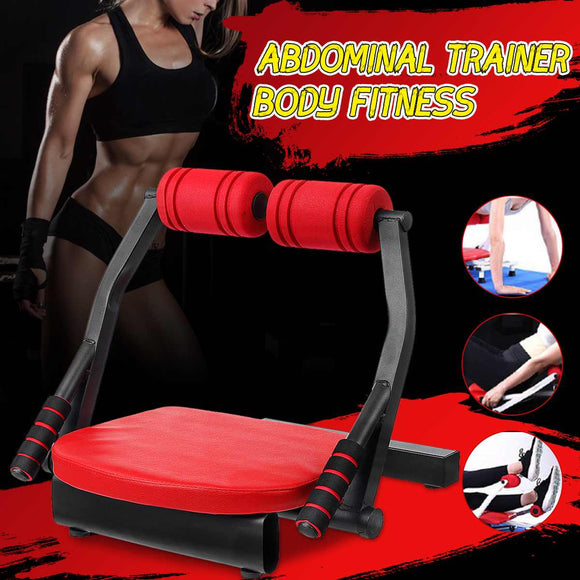 Sit-Ups Equipment Abdominal Exercise Ab Roller Suction Cup Home Abdomen Fitness Auxiliary Sit-Ups Tools Fitness-Chair Bench