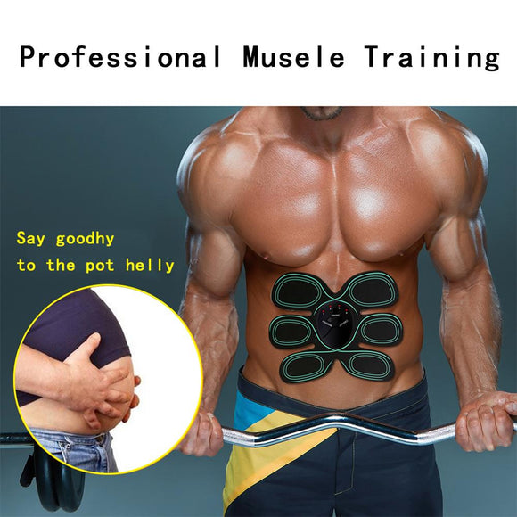 New Smart Stimulator Training Abs Fitness Gear Muscle Abdominal Toning Belt Trainer DeviceFor Health