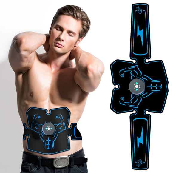 Abdominal Muscle Trainer Stimulator EMS Abs Fitness Equipment Training Gear Muscles Electrostimulator Toner Exercise At Home Gym