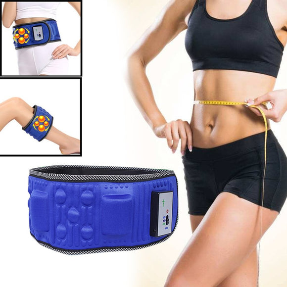 Vibration Fitness Massager Electric Vibrating Slimming Belt Shaking Machine Slimming Device Vibration Fat Burning Artifa 2018
