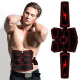 Muscle Stimulator Waist Belt Arm Leg Hip Band Portable USB Rechargeable Fitness Machine Abdominal Exerciser Training Device Body