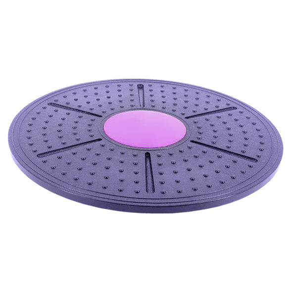 Pilates Round Board enjoyment lightweight wear-resistant Fitness Balance Board Portable exercise Non-slip Yoga Rotating Disc