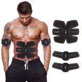 Smart Ultimate ABS Stimulator Muscle Training Gear Toning Belt Home Exercise Fit Pad Fitness Gym Abs Arm Sports Stickers