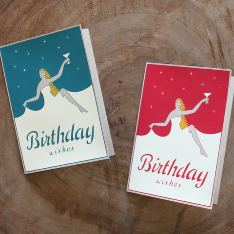 BDAY WISHES - Screen Print