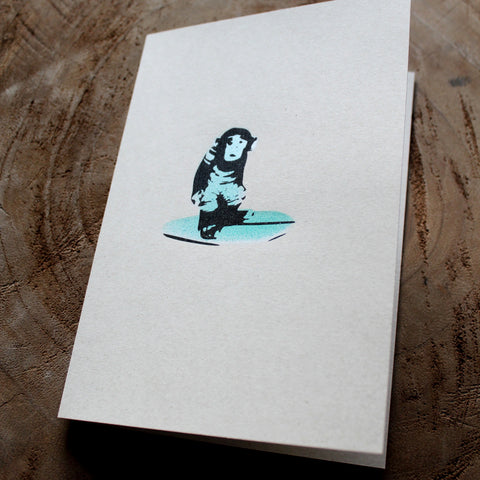 TIJUANA SURF MONKEY - Stencil & Screen Print