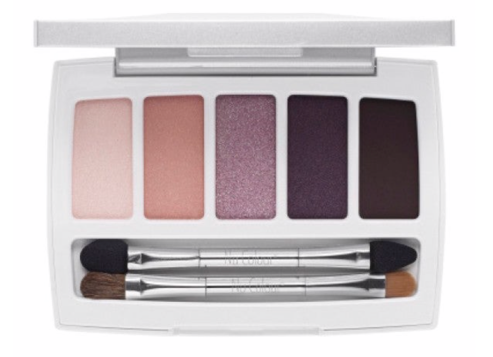 Eyeshadow 5 colour palette Violet Breeze LightShine