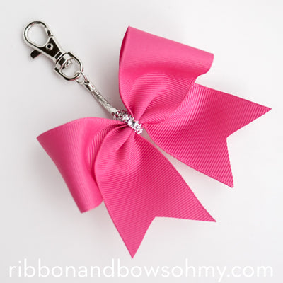 Cheerbow Keychain Tutorial (video)