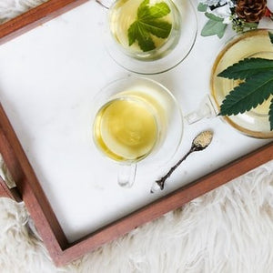 CBD White Tea Candle