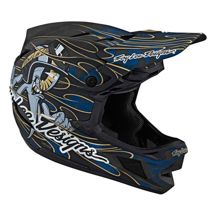 Casco D4 Carbon, Eyeball Blue