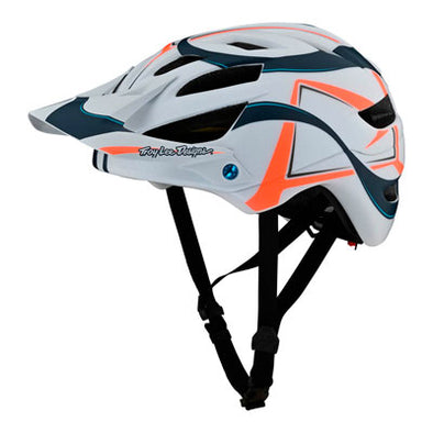 Casco A1 AS MIPS Welter Blanco/Azul