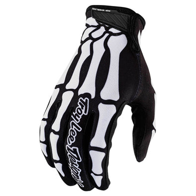 Guantes AIR Skully Negro/Blanco