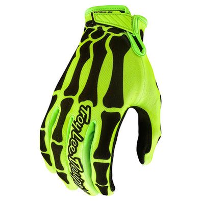 Guantes AIR Skully Amarillo/Negro