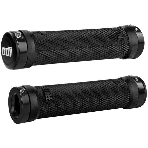 Grips ODI RUFFIAN LOCK-ON Negros 130MM