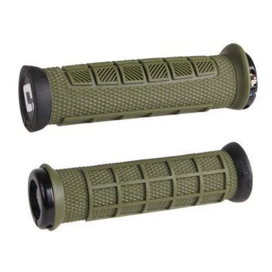 Grips Elite Pro Lock-On MTB, Verde Army