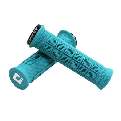 Grips Elite Pro Lock-On MTB, Turquesa