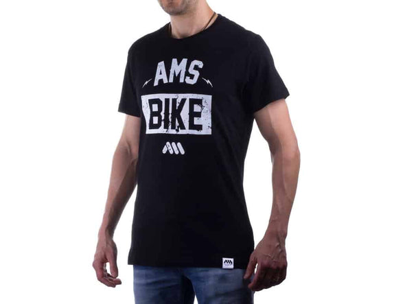 Camiseta, Bike Negra