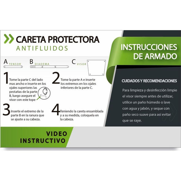 Careta Protectora Abatible