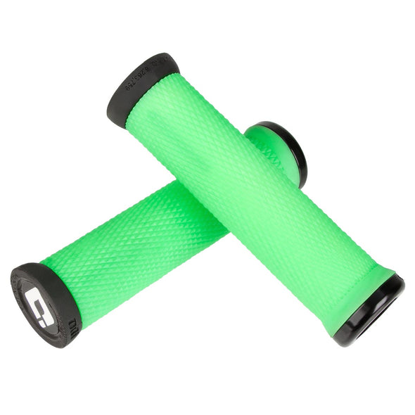 Grips ODI ELITE MOTION V2.1 LOCK-ON Verde Retro/Negro