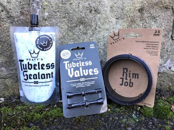 Kit Conversión Tubeless, 25mm x 9m