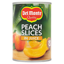 Del Monte Peach Slices