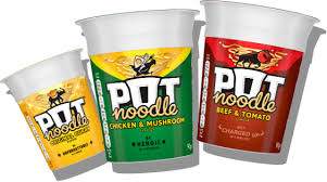 Pot Noodle Chicken Curry